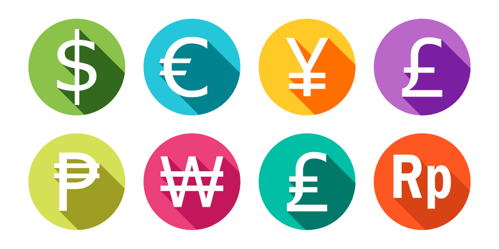 types of financial instruments forex currencies